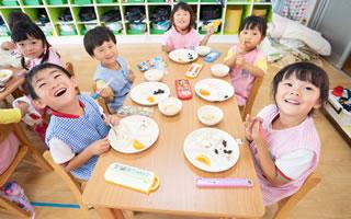 とんの幼稚園の給食