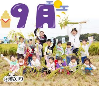 とんの幼稚園 9月